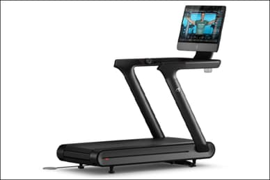 photo of peloton treadmill