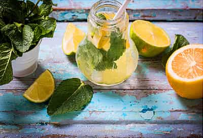rx pharmacy  lemon tea