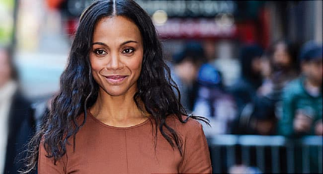 Hollywood Star Zoe Saldana Won't Let Hashimoto's Slow Her Down