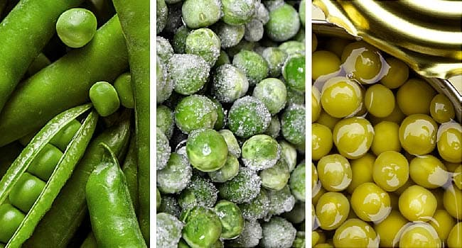 Food Quiz: Fresh, Frozen, or Canned?