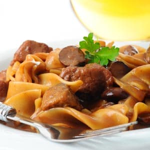 Beef stroganoff recipe meat entree recipes on webmd beef stroganoff pin webmd recipe forumfinder Gallery