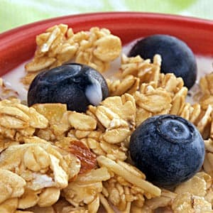 Blueberry Almond Vanilla Cereal