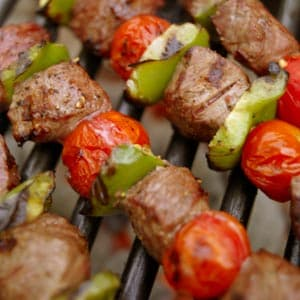 Asian Beef Veggie Skewers Easy Recipe Meat Entree Recipes On Webmd