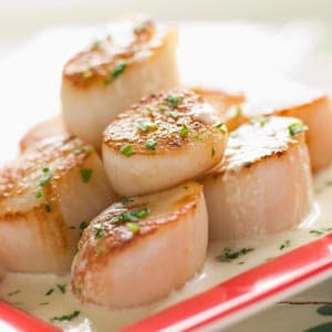 Scallops - Easy Herb Butter