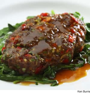 Asian Salisbury Steaks