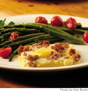 Breakfast recipe cheesy polenta and egg casserole cheesy polenta egg casserole forumfinder Image collections