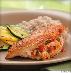 Chicken Breasts Stuffed With Pimiento Cheese