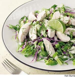 Coconut-Lime Chicken & Snow Peas