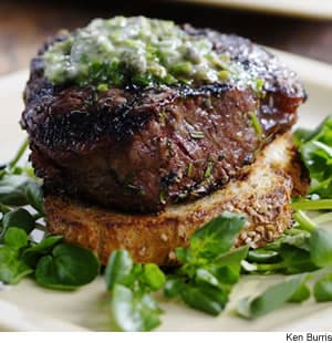 Grilled Filet Mignon With Herb Butter Texas Toasts Recipe