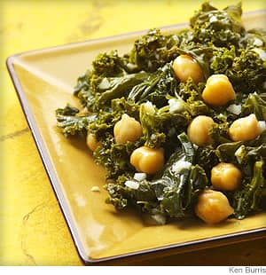 Indian spiced kale and chickpeas recipe indian spiced kale chickpeas forumfinder Gallery