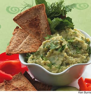 Lima Bean Spread With Cumin & Herbs