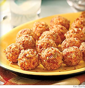 Nutty Pimiento Cheese Balls