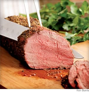 Peppercorn Beef Tenderloin
