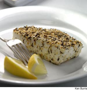 Thyme-&-Sesame-Crusted Halibut