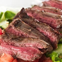 flank steak dads favorite