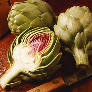 Microwave Artichokes With Roasted Garlic Dipping Sauce