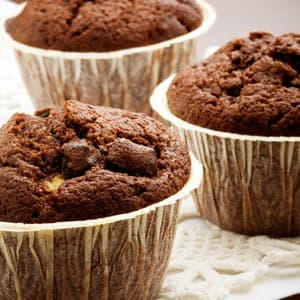 Mocha Chip Muffins With Pecans