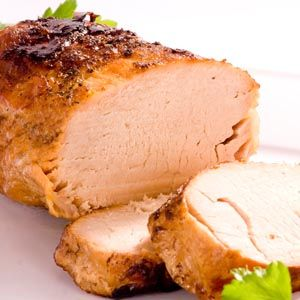 Pork Roast With Spicy Maple Glaze