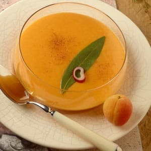Santa Fe Chilled Nectarine Soup