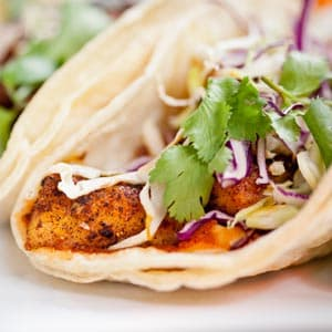 Fish taco recipe fish entree recipes on webmd for Fish burrito recipe