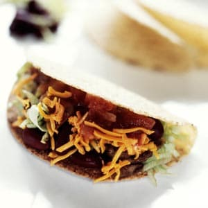 Vegetarian Black Bean Tacos With Chipotle Chile Salsa