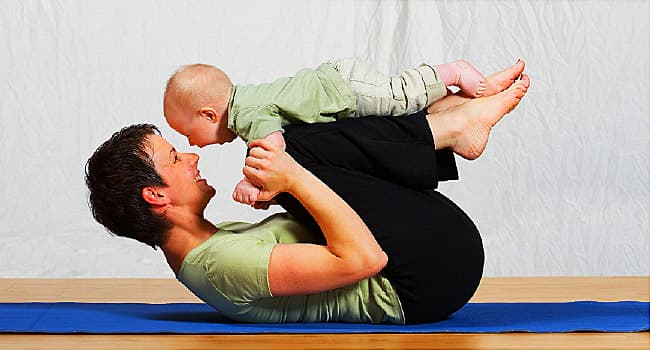 Lose 'Baby Fat' After Pregnancy With These 6 Exercises