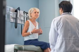 photo of woman at doctors