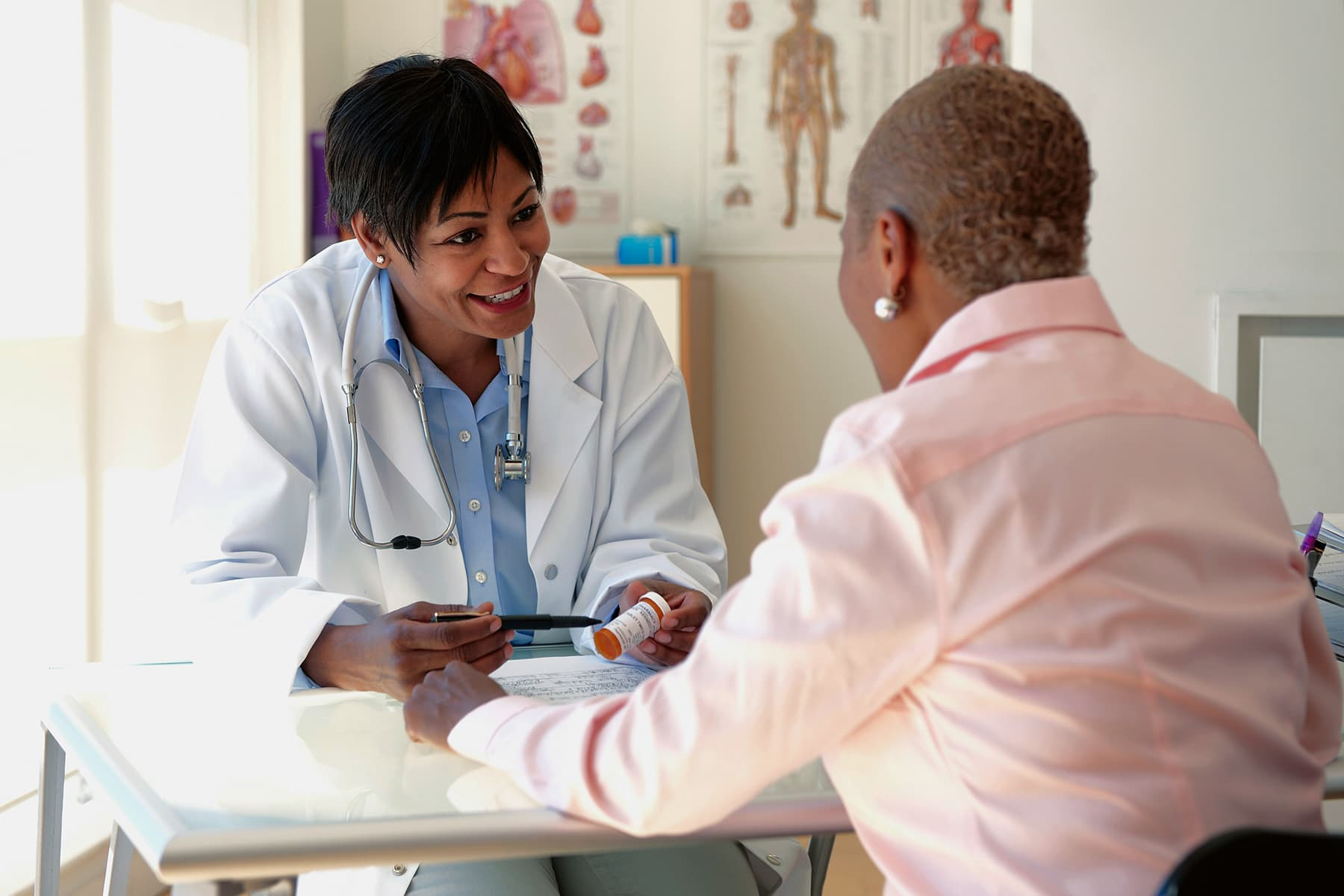 Minorities are less comfortable discussing sensitive issues with their doctor