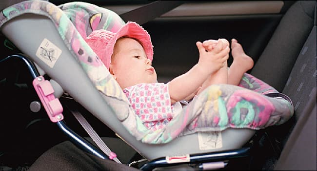 Putting Your Child to Sleep in a Car Seat is Risky