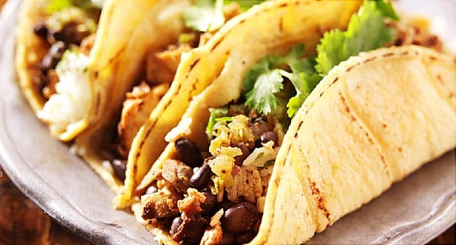most diet friendly mexican food