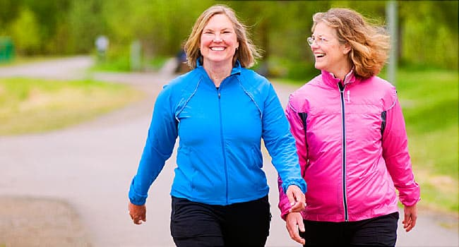 Walking, Exercise Linked to Lower Heart Failure