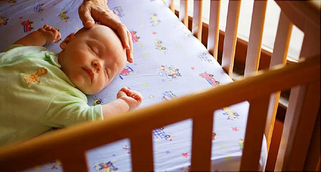 Babies' Sleep 'Twitching' May Aid Development