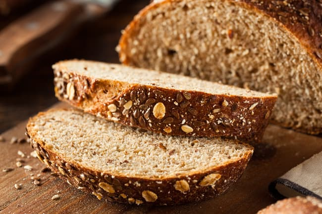 photo of whole wheat bread