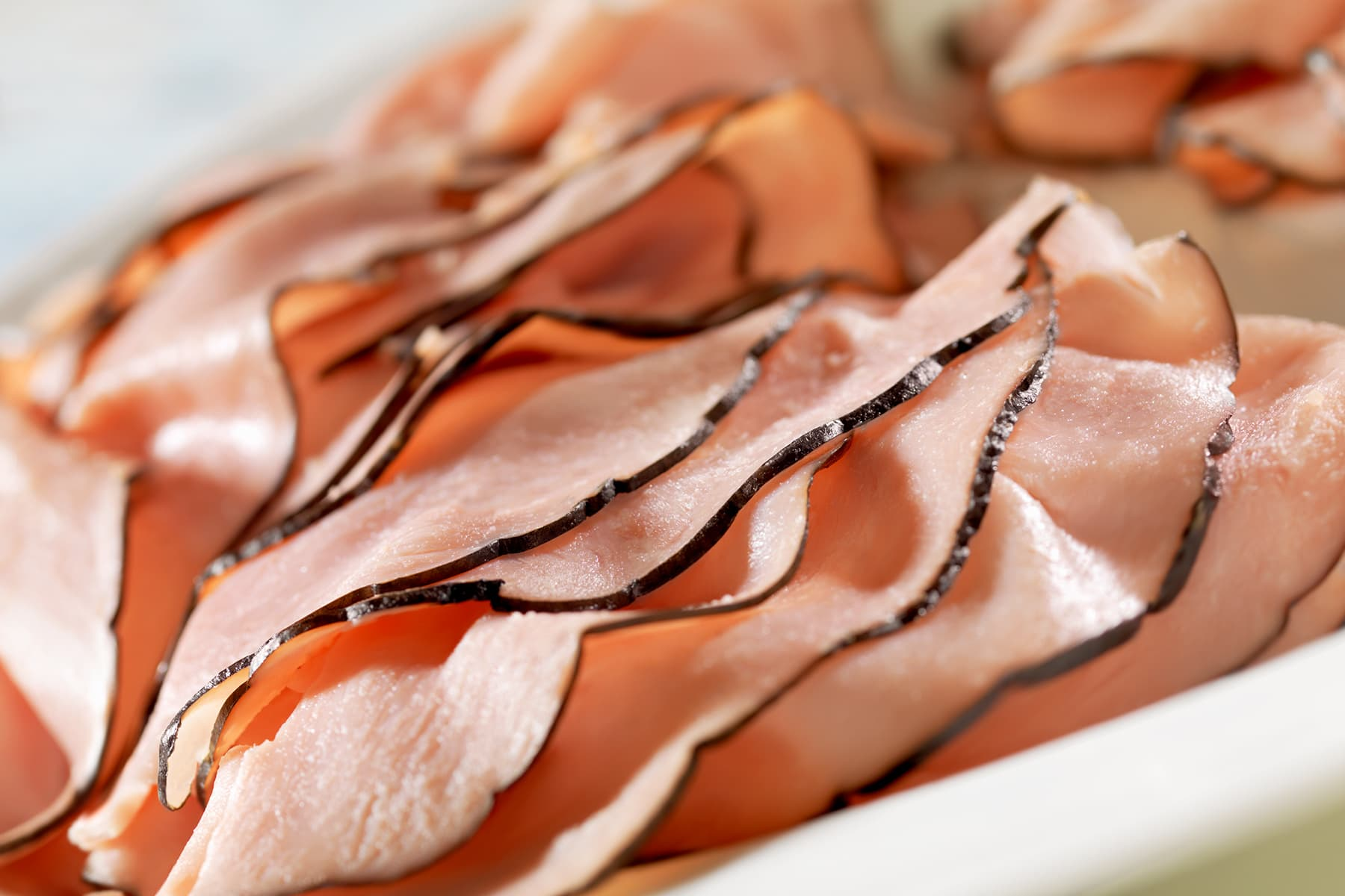 photo of sliced lunch meat
