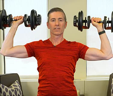 upper body exercise video on 10minute weight training routine