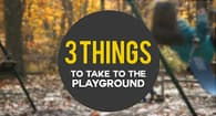 3 things bring playground