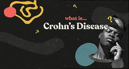 photo of animated explainer what is crohns disease