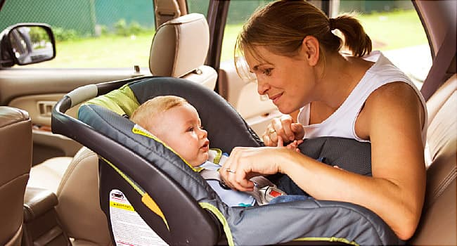 Rear Facing Car Seats Protect When Hit From Behind