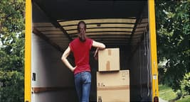 man moving