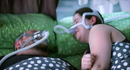 photo of woman in cpap