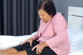 photo of woman with sore joints