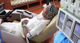 photo of person going through chemotherapy