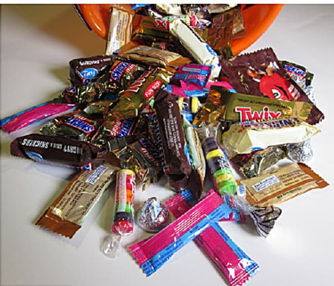 Halloween Candy Video How Many Calories Are In Your Favorite Fall