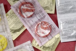 photo of condoms