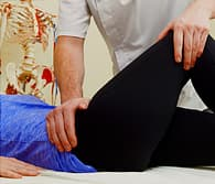woman in physical therapy