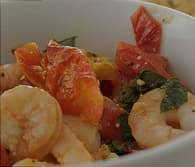 baked shrimp and tomato basil