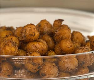 Spiced Chickpea 'Nuts'