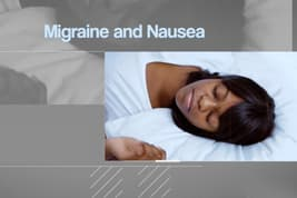 expert feature migraine and nausea video