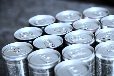 canned drinks