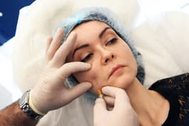 photo of facial injection